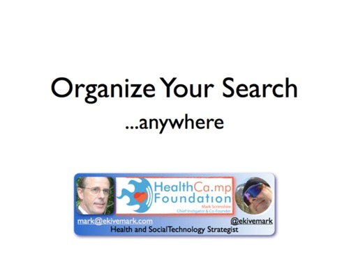 Organizeyoursearch